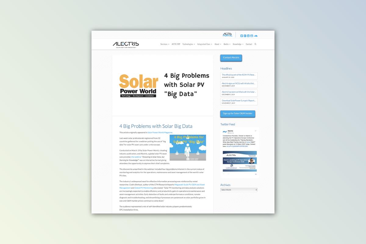 Webinar and Content Development