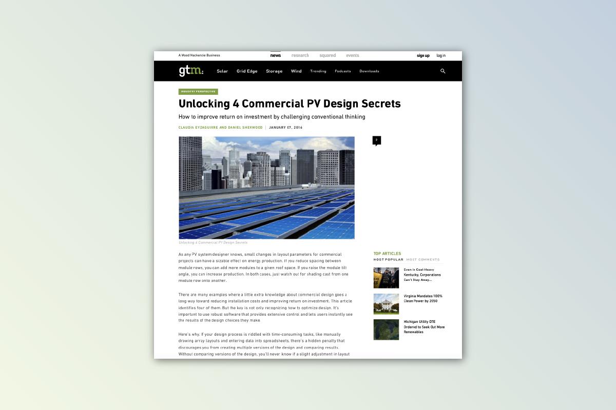 Commercial Solar Content