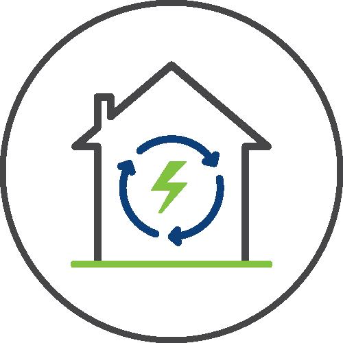 Energy efficiency icon image