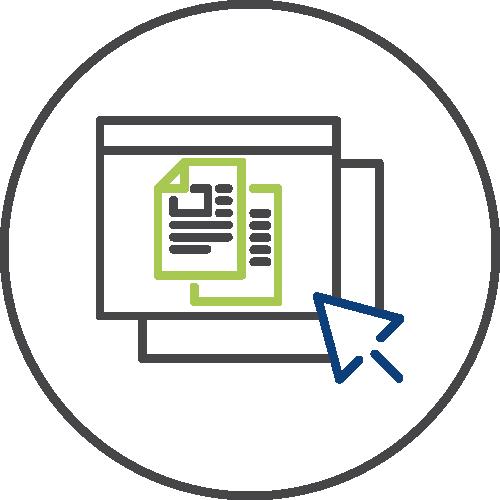 Sponsored content icon image