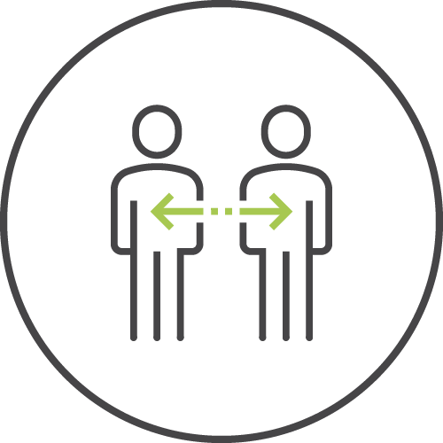 Stakeholder engagement icon image